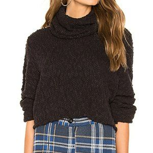 NWT Free People Big Easy Cowl Sweater Top Crop